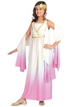 Girls Athena Goddess Costume