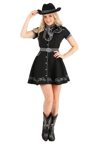 Womens Glitzy Cowgirl Costume