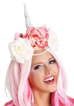 Unicorn Flower Crown Accessory2