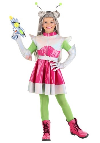 Girl's Outer Space Cutie Costume new