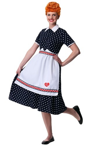 Plus Size I Love Lucy Womens Lucy Costume 1X 2X