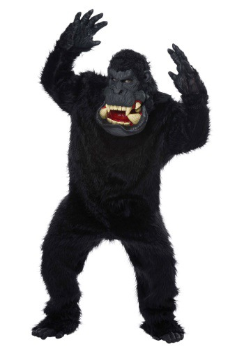 Click Here to buy Goin Bananas! Gorilla Costume for Adults from HalloweenCostumes, USA Funds & Shipping