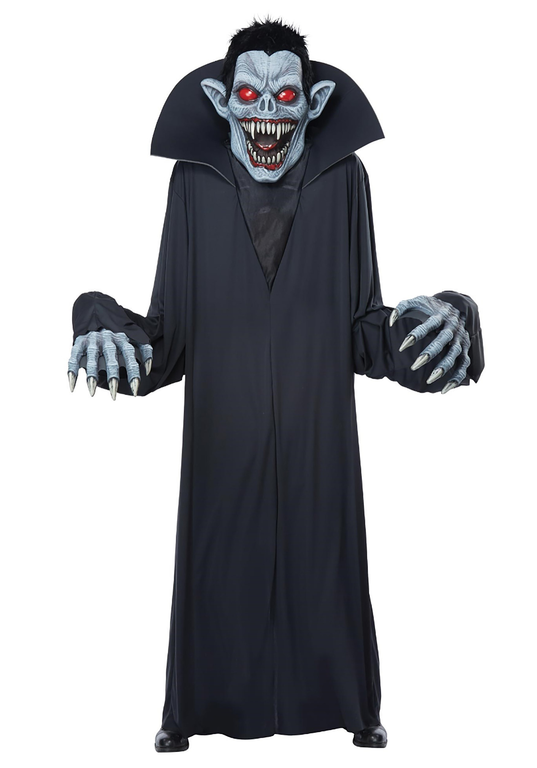 towering terror vampire costume for adults. Black Bedroom Furniture Sets. Home Design Ideas