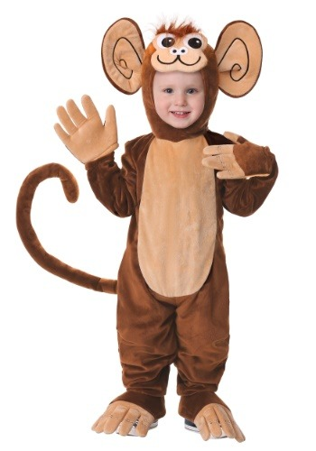 Toddler Funky Monkey Costume