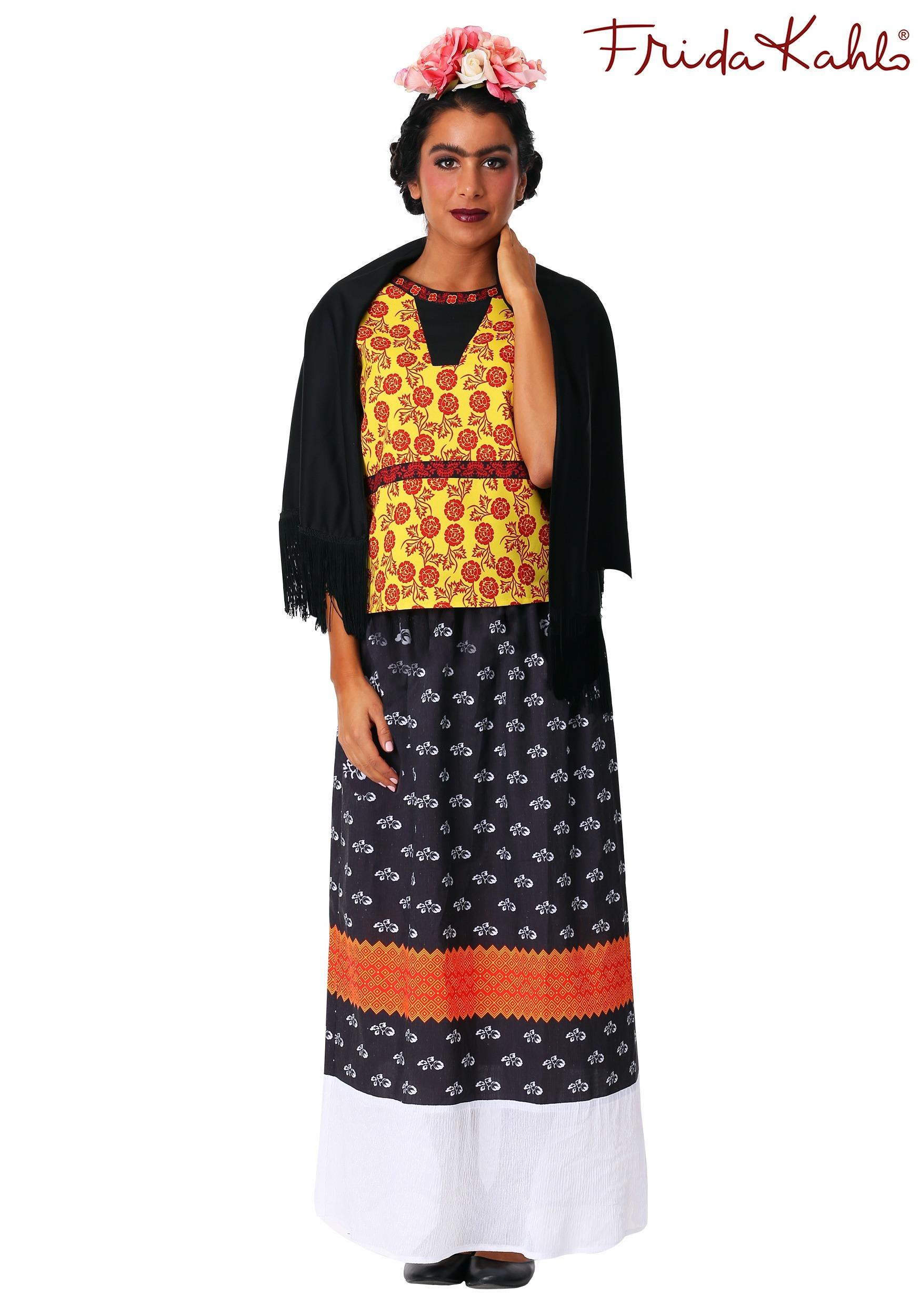 Women S Frida Kahlo Costume Dress