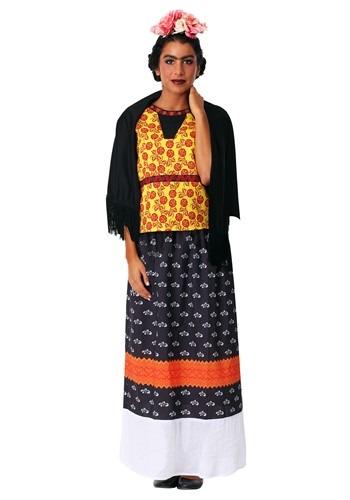 Womens Plus Size Frida Kahlo Costume