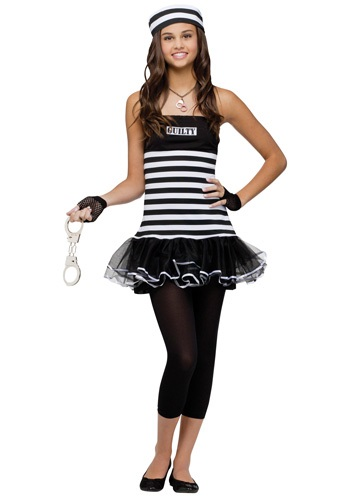 Click Here to buy Teen Guilty Prisoner Costume from HalloweenCostumes, USA Funds & Shipping