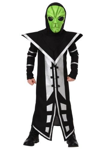 Alien Assassin Boys Costume