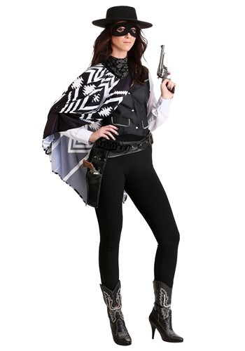 Women's Bad Bandit Costume