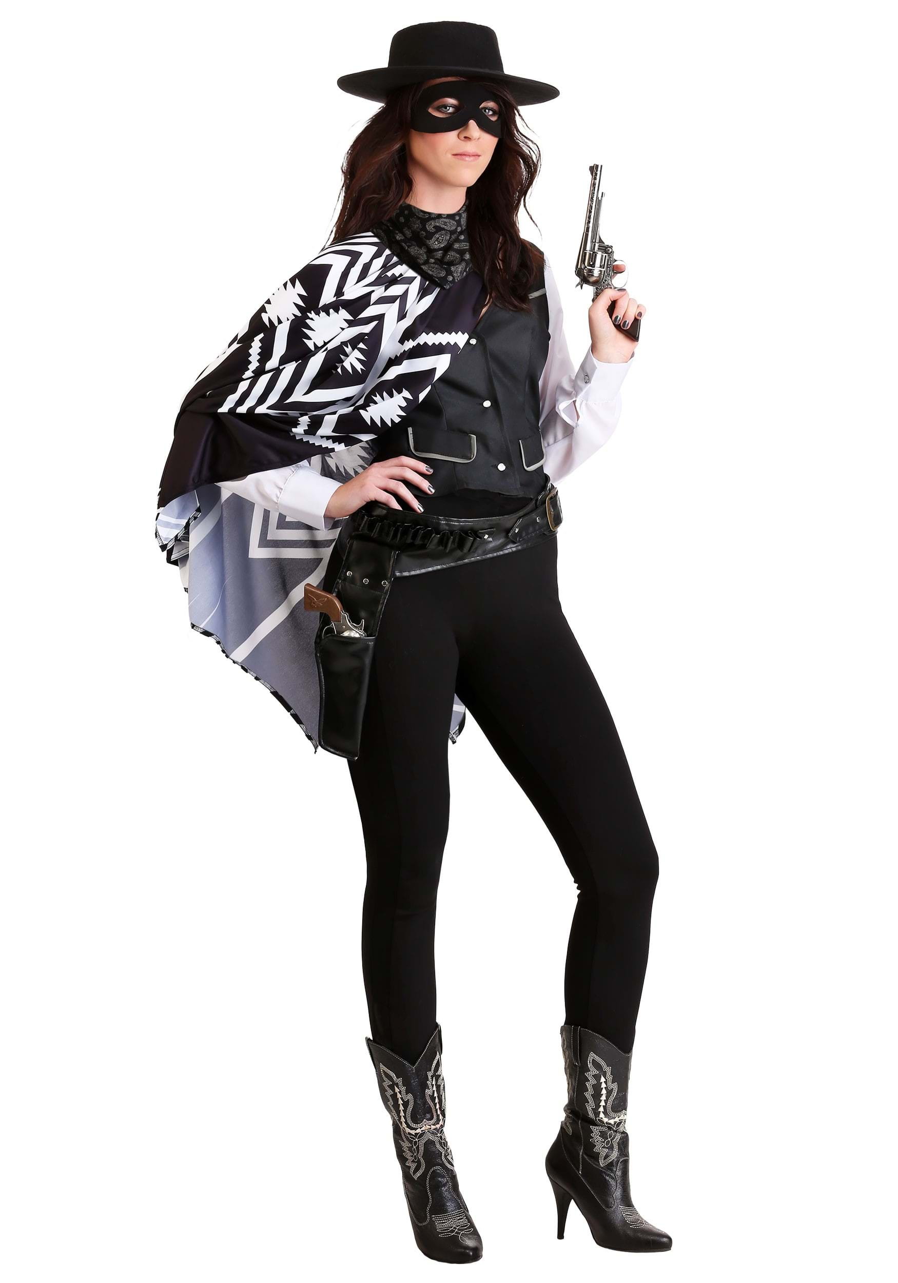 Plus Size Bad Bandit Womens Costume