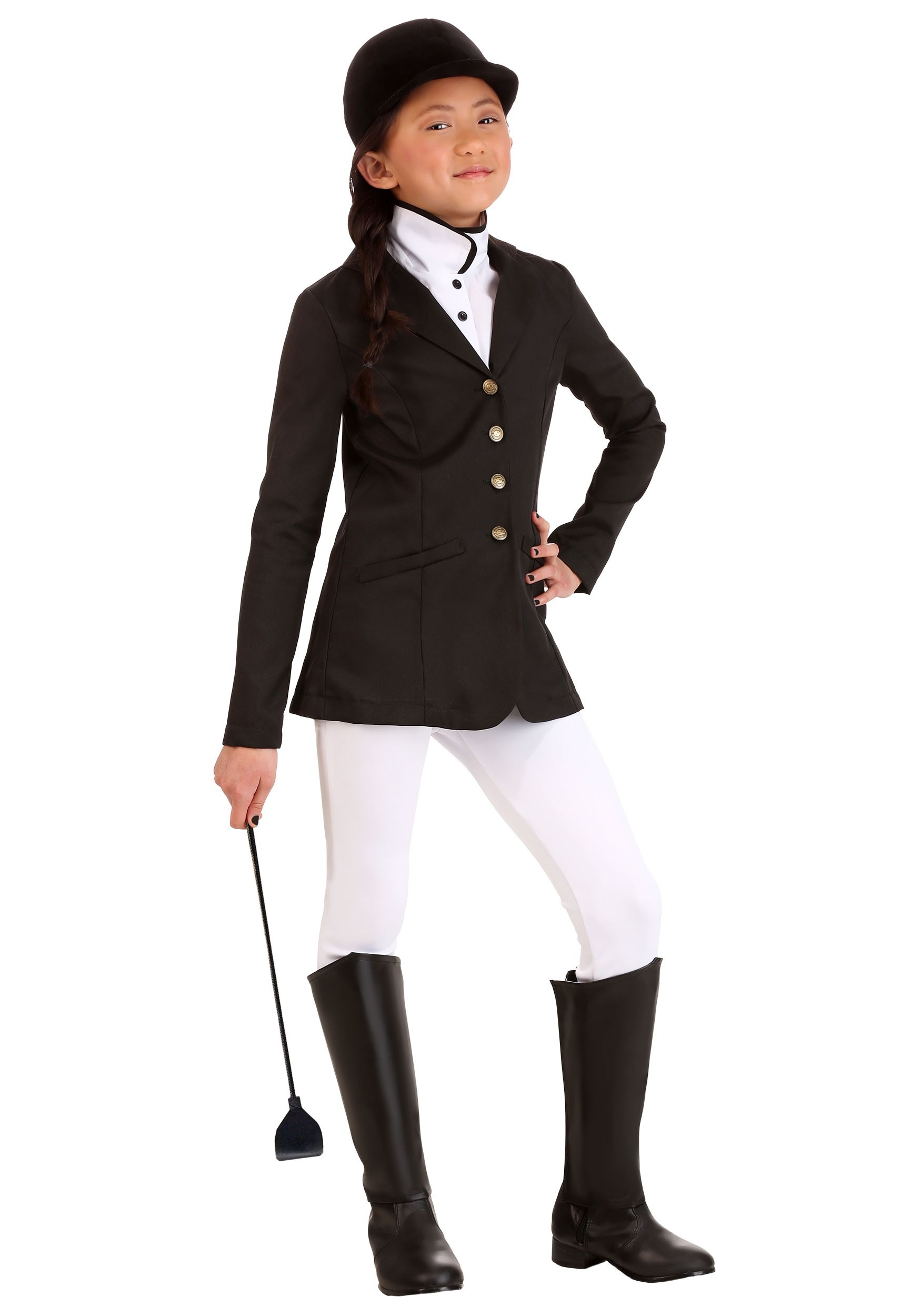 Girls Equestrian Costume Jockey Kids