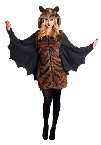 Women's Deluxe Bat Costume Main Update