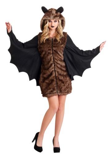 Womens Deluxe Bat Costume