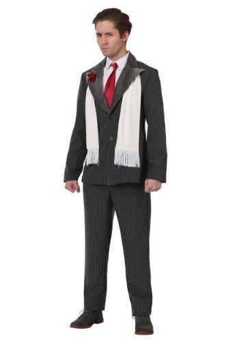 Mens Plus Size Vicious Gangster Costume