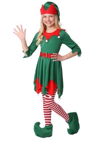Girls Santas Helper Costume
