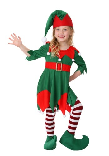 Toddler Girls Santas Helper Costume