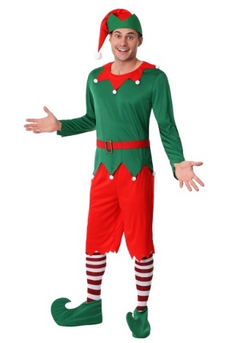 Click Here to buy Mens Plus Size Santas Helper Costume 2X 3X from HalloweenCostumes, CDN Funds