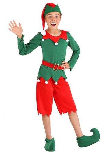 Boys Santas Helper Costume