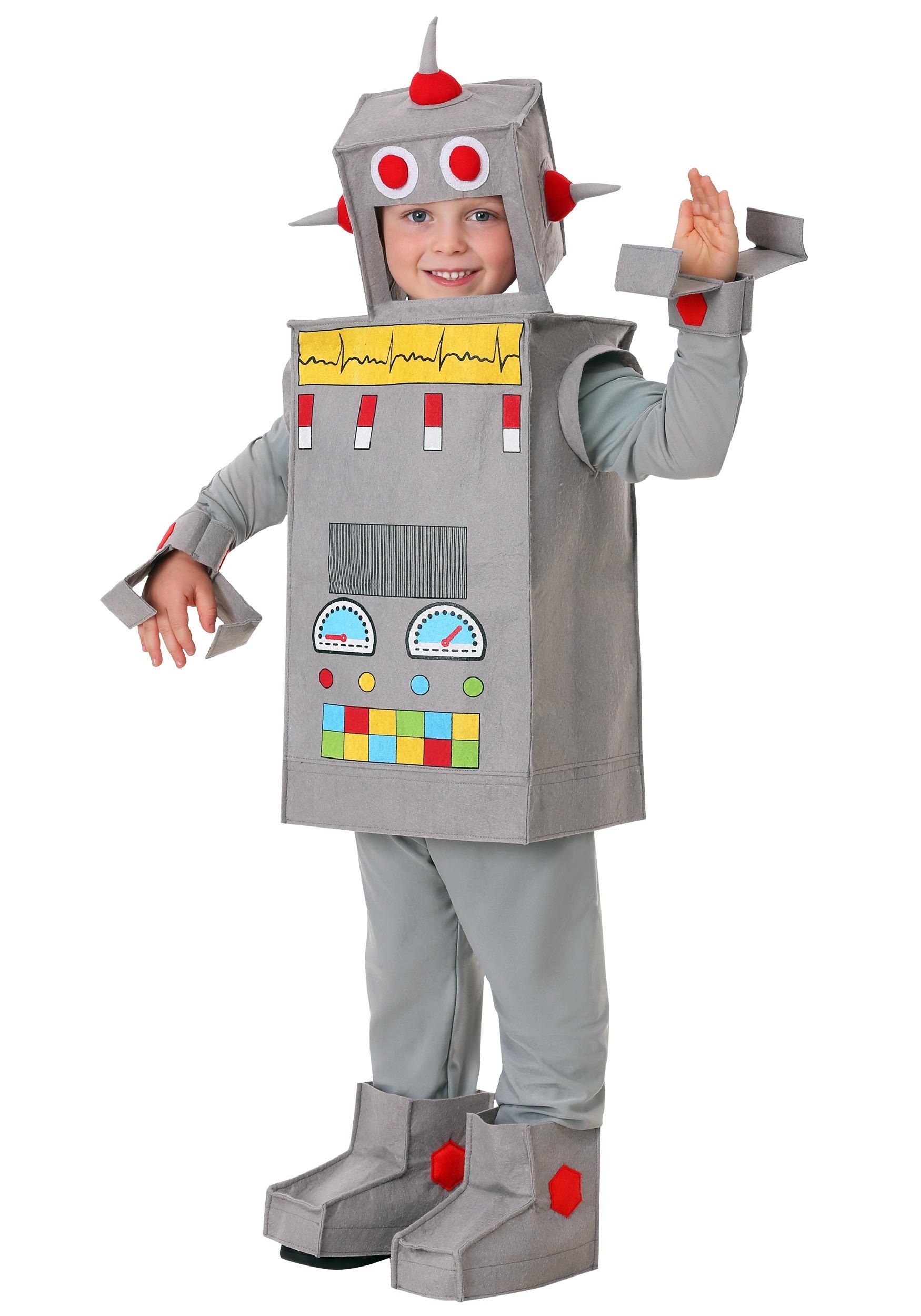 Costume Halloween Robot.Robot Rascal Toddler Costume