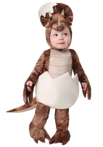 Click Here to buy Tiny Triceratops Baby Costume from HalloweenCostumes, CDN Funds