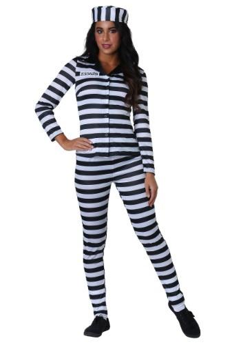 Womens Plus Size Incarcerated Cutie Costume