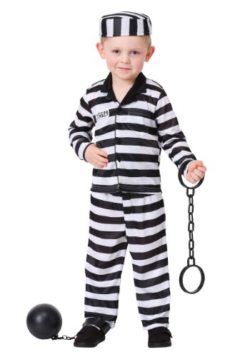 Toddler Boy's Jailbird Costume