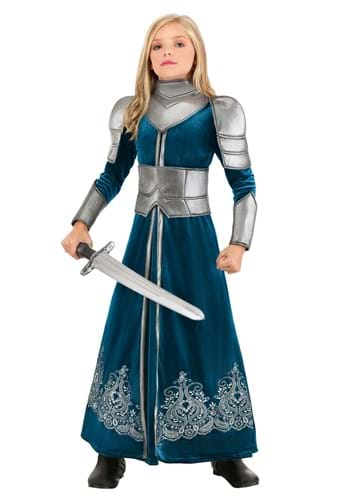 Girl's Medieval Warrior Costume