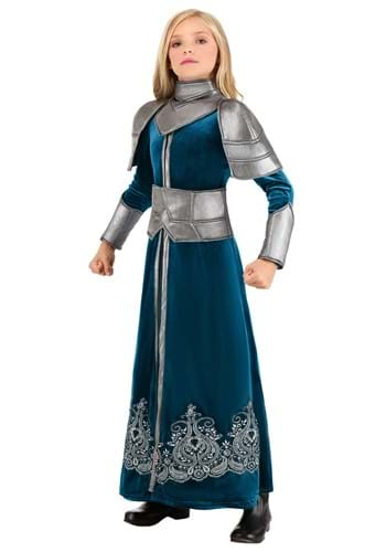 Medieval Warrior Costume for Girls