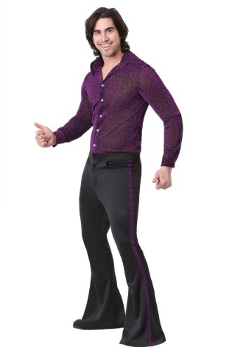 Click Here to buy Dazzling Disco Dude Mens Costume from HalloweenCostumes, CDN Funds