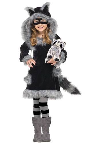 HALLOWEENCOSTUMES.COM - Girls Sweet Raccoon Costume