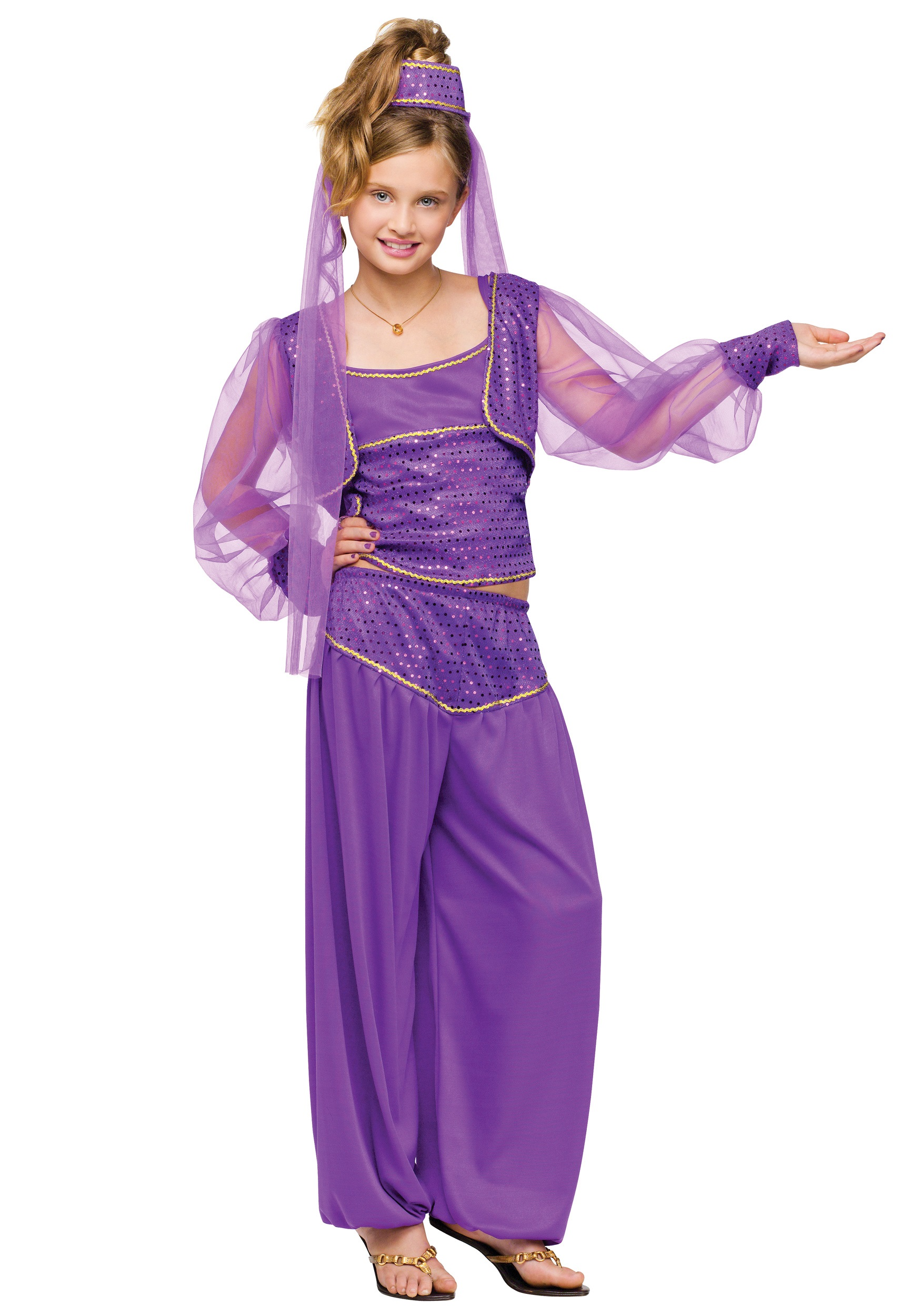 sc 1 st  Halloween Costumes & Child Dreamy Genie Costume