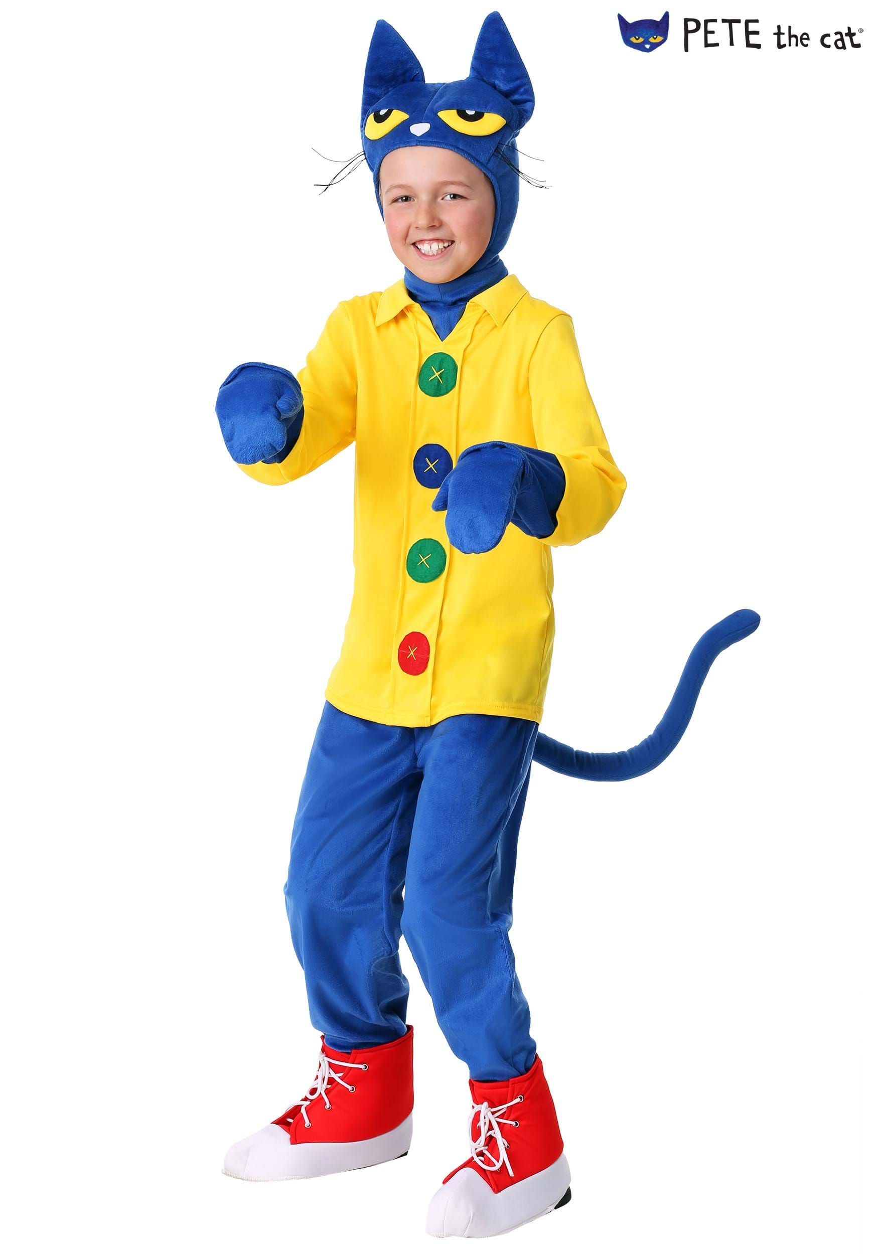 pete the cat costume for a child