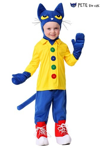 Toddler Pete the Cat Costume