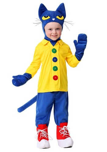 Toddlers Pete the Cat Costume