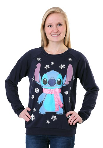 Juniors Lilo and Stitch Stitch Light Up Sweater update1