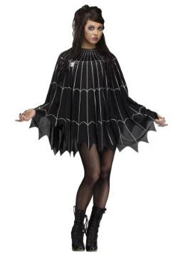 Adult Spider Web Poncho Costume