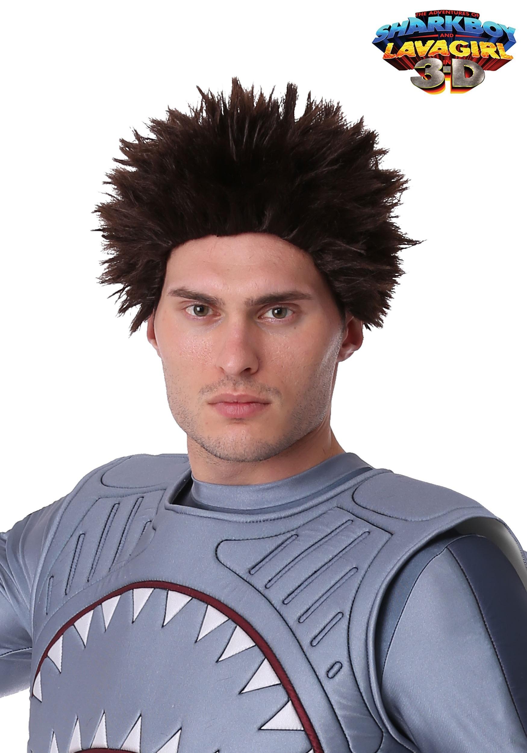 Exclusive Sharkboy Adult Wig