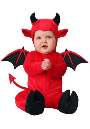 Click Here to buy Baby Adorable Devil Costume from HalloweenCostumes, CDN Funds