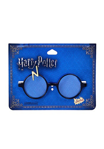 Click Here to buy Harry Potter Lightning Bolt Glasses from HalloweenCostumes, USA Funds & Shipping