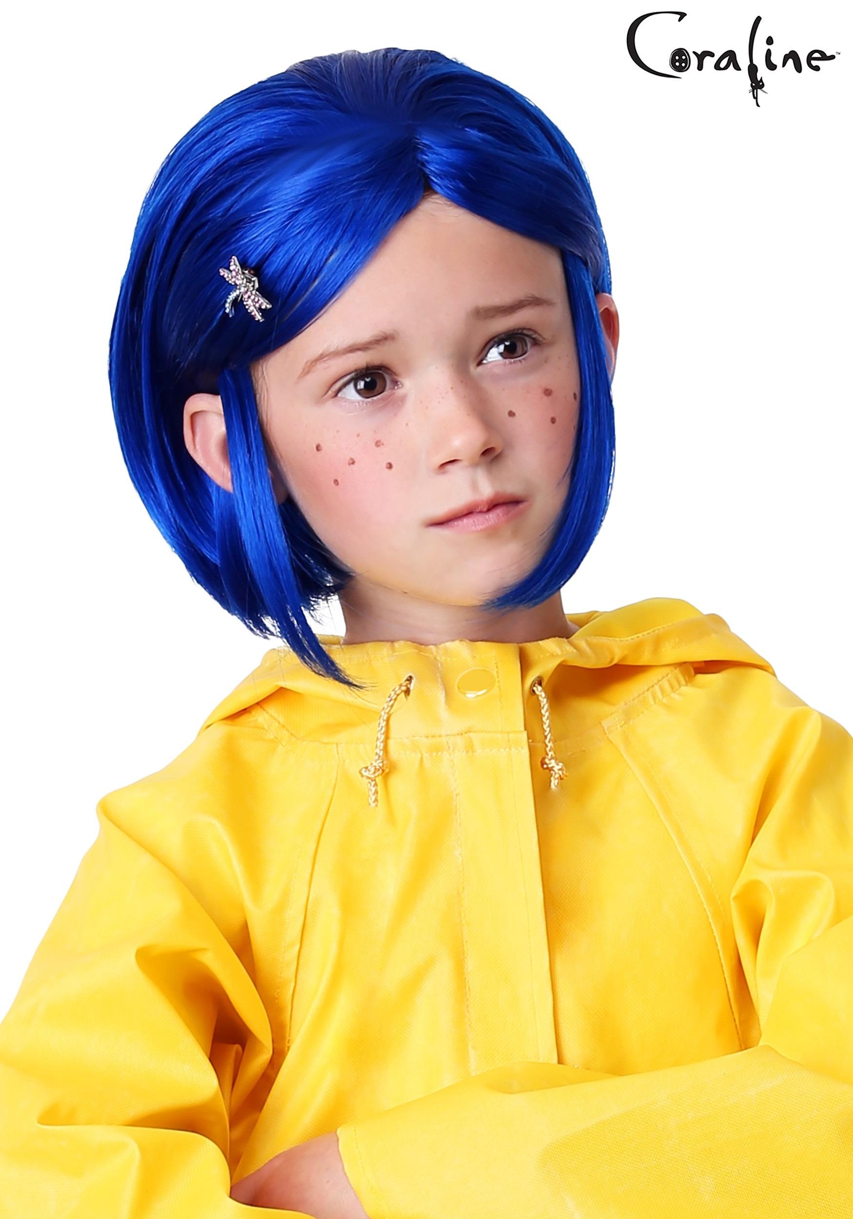 Girl S Coraline Wig