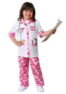 Girl's Veterinarian Costume Update Main