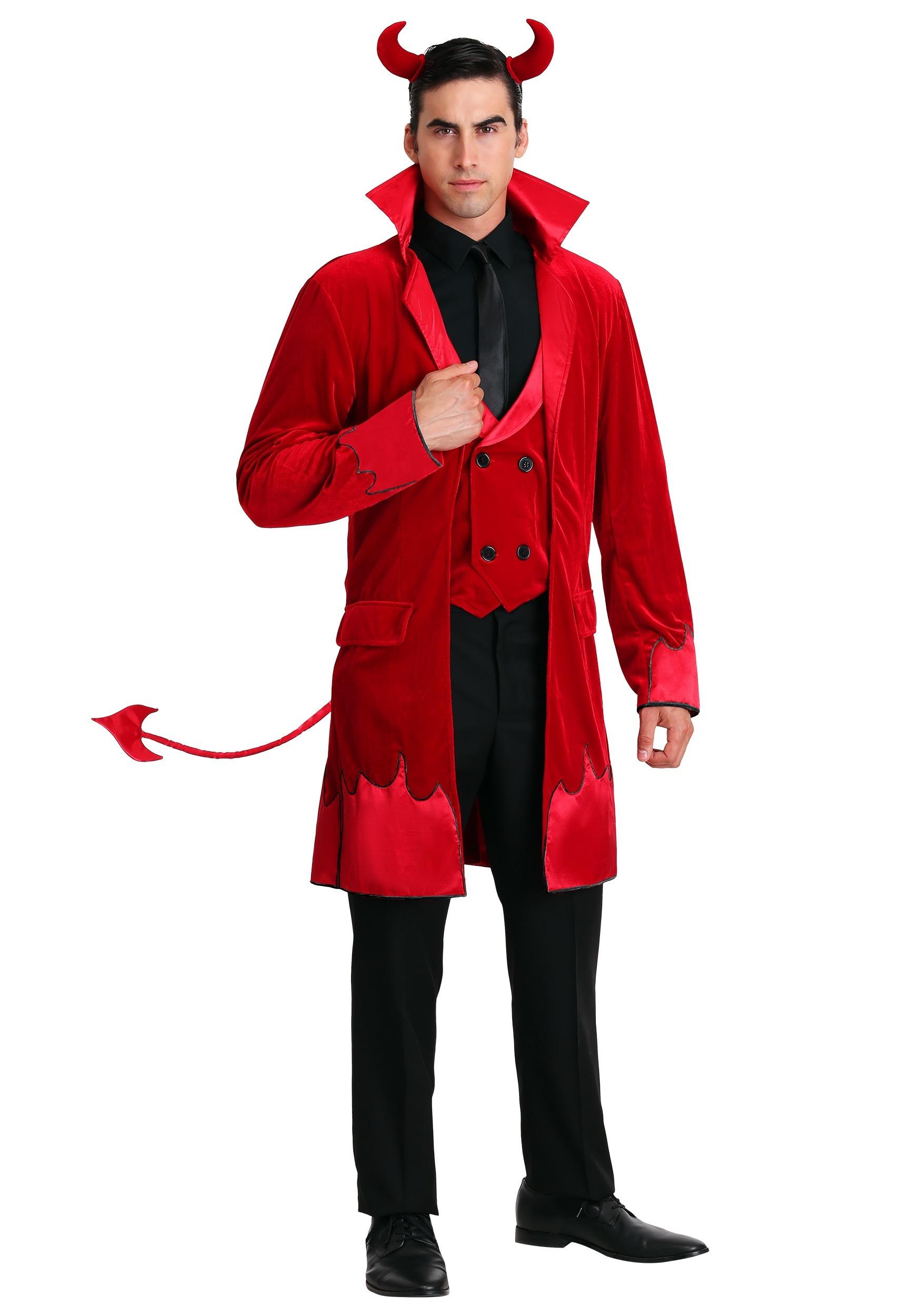 debonair devil men's costume