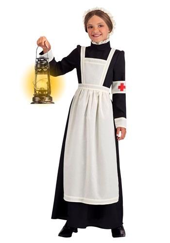 Girl's Florence Nightingale Costume