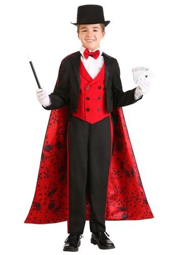 Boy's Deluxe Magician Costume