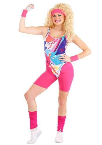 Womens Jazzercise-Costume