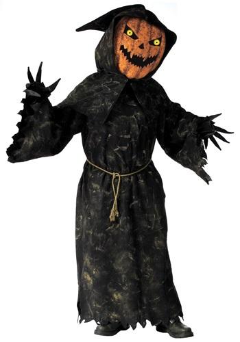 Adult Bobble Eyes Pumpkin Costume