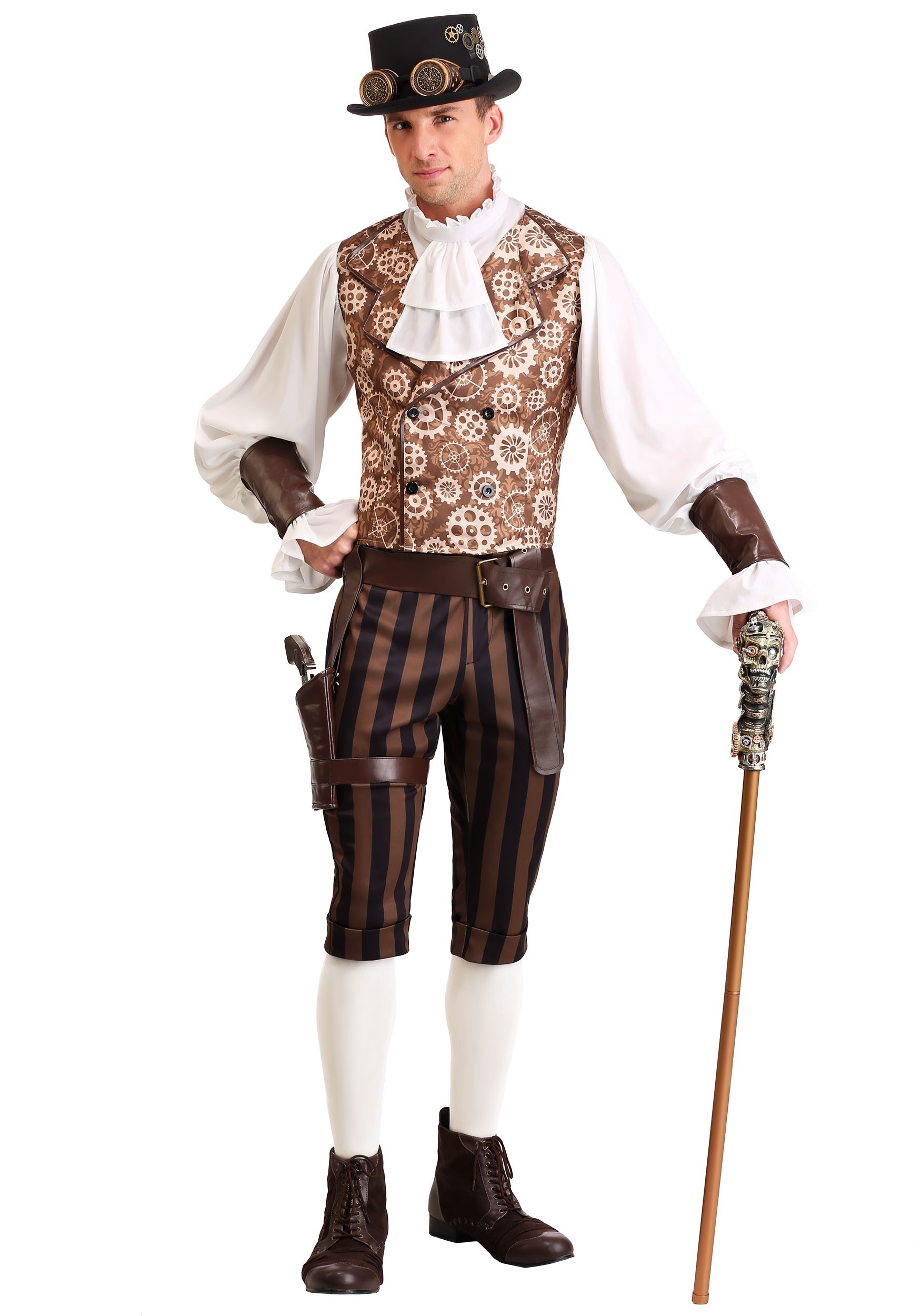 steampunk dandy costume for men