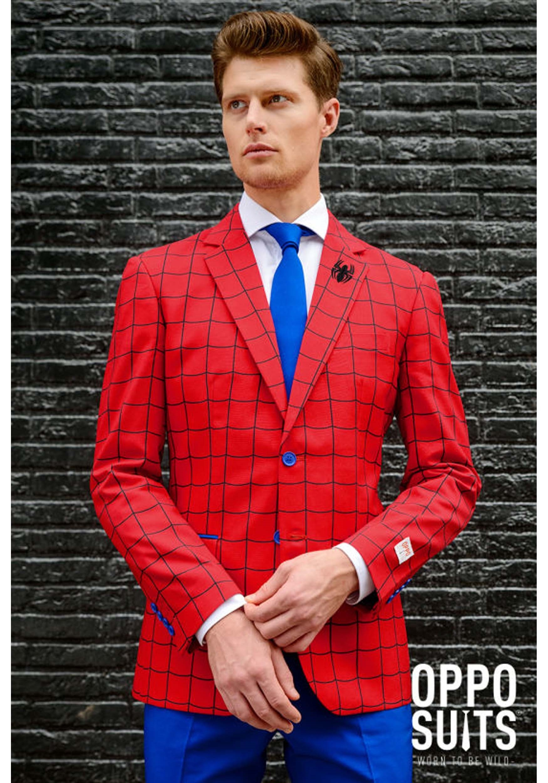 Men's OppoSuits Spider-Man Suit OSOSUI0082