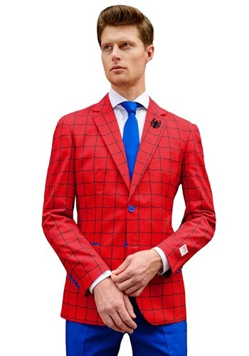 OppoSuits Mens Spider-Man Suit