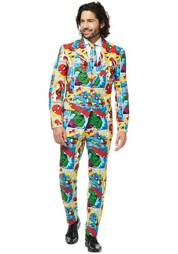 Mens OppoSuits Marvel Comics Suit